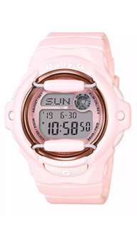 Preorder Casio Baby-G Pink Color Series Peach Resin Band Watch BG169G-4B
