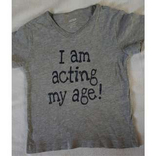 Statement Shirt 2 to 3 yrs old