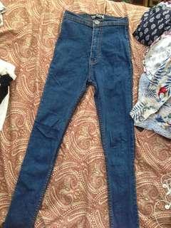Punny high waist skinny jeans