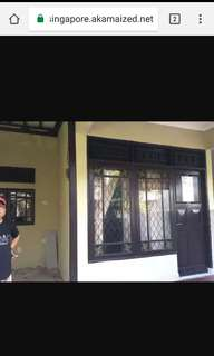 Dikontrakkan rumah asri di Villa Pamulang Mas