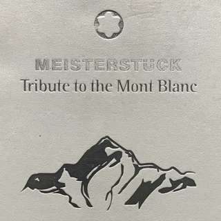 """MONT BLANC """"TRIBUTE TO MONT BLANC"""""""