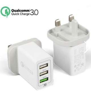 Multiport Adapater | Turbo power charge with Qualcomm QC3.0