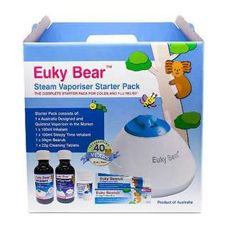 . Euky Bear Steam Vaporiser Starter Pack