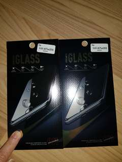 Samsung A8+ Casing and Tempered Glass Screen Protector