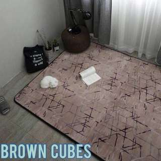 Design Brown Cube by Europe Carpet