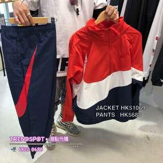 🆕NIKE ANORAK JACKET/PANTS COJP (照圖價) Jacket HK$1069  Pants HK$688 ➖➖➖➖➖➖➖➖➖➖➖➖➖➖➖ ✅UNISEX ✅S/M/L/XL ➖➖➖➖➖➖➖➖➖➖➖➖➖➖➖ 📲WhatsApp 68220680/ FB inbox  ➖➖➖➖➖➖➖➖➖➖➖➖➖➖➖ ✅落訂付款  可以用Apps 'HSBC PayMe' 省卻去銀行🏧 方便快㨗🤞