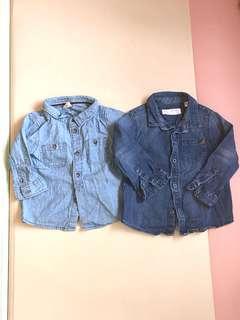 H&M / Zara 童裝牛仔恤衫