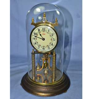 ANTIQUE VINTAGE KUNDO GERMANY MECHANICAL WIND-UP ANNIVERSARY CLOCK