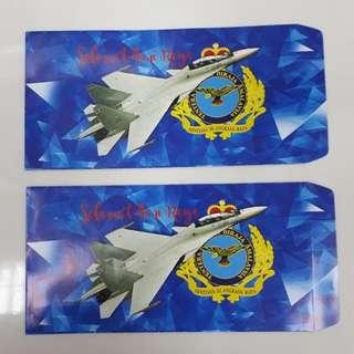 Angpow Packet Sampul Duit Raya Angkatan Tentera Udara Malaysia