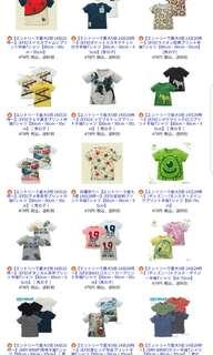 (團購日本西松屋優惠:一件貨品都可代訂,免日本本地運費,至2018年4月20日早上9時截止,運費只計貨品實際重量,最平最公平既代購!)