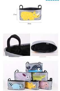 ⭐️[Ready Stock] Brand New Animal baby Stroller Multi-purpose hanger Baby cot Organizer Bag