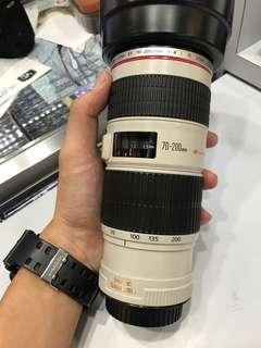 Canon 70-200mm F4 EF IS USM L LENS