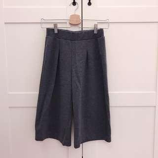 🚚 Zara 灰色寬褲