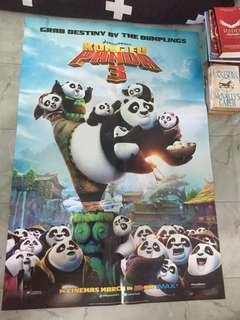 (Poster Bioskop) kungfu panda