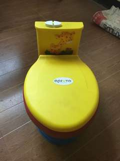 Potty train with music