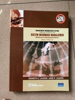 Buku Sistem Informasi Manajemen (I)