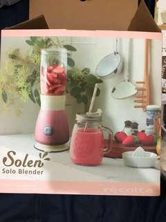 Recolte珍珠粉紅果汁機