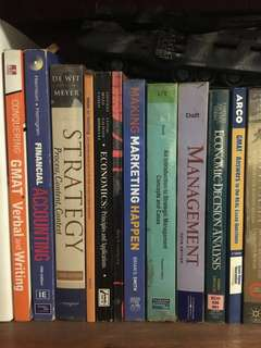 Educational College Business Management Books