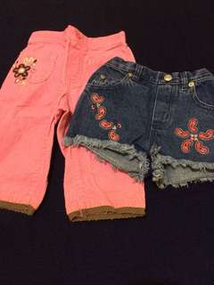 pants and shorts for babies