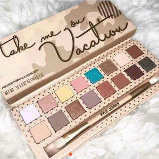Kylie Vacation Palette