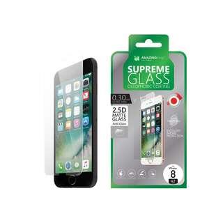 AMAZINGthing iPhone 8/8 Plus 0.3mm 高效防指紋磨砂玻璃貼