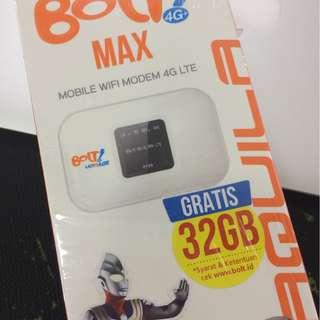 Modem BOLT 4G LTE Gratis Kuota 32GB