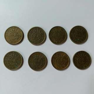 【錢幣收藏】澳門舊硬幣:1967年5仙