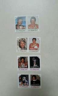 米高積遜郵票