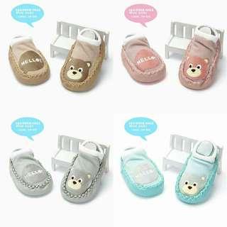 Baby Anti-SKIP Leather sole SHOE SOCK