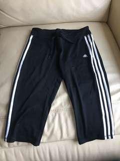 90%新 Adidas 運動褲(中長)