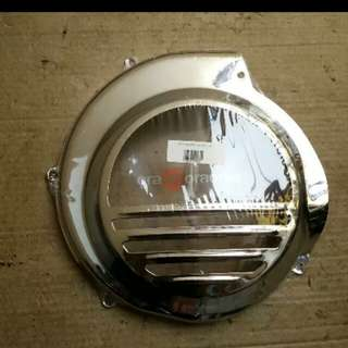 Vespa px ps strada fan cover chrome