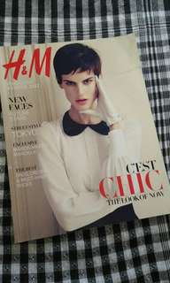 H&M Complimentary Magazine