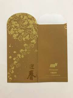 Manpower Gold Red Packet Ang Bao