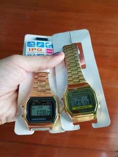 Casio Vintage Watches (Silver & Gold)