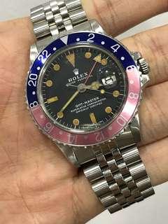 Rolex vintage 1675 GMT Master