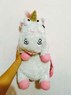 I'm so fluffy! Unicorn backpack