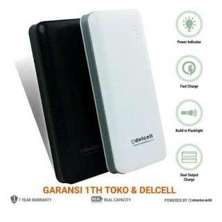 powerbank delcell blast 9000MAH original