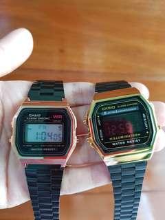 Casio Vintage Watch (Black Gold)
