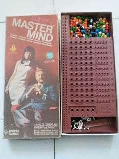舊mastermind一盒,相片反應情況,不清楚是否齊配件