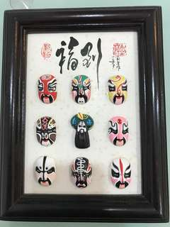 Chinese Opera Face hanging artwork