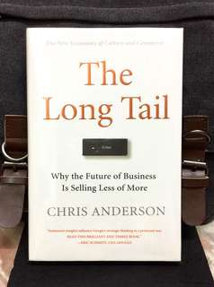 . # Highly Recommended《Bran-New + Hardcover + The Future Of Business Does Not Lie In Hits But In Niches》Chris Anderson –THE LONG TAIL : Why the Future of Business is Selling Less of More