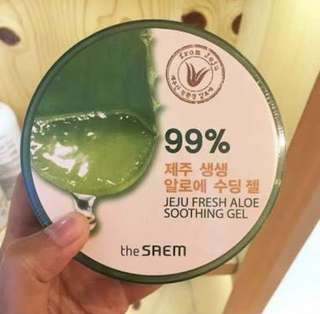 THE SAEM 99% Jeju Fresh Aloe Soothing Gel Original