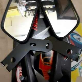 Vespa px sprint mirror set + bracket MG
