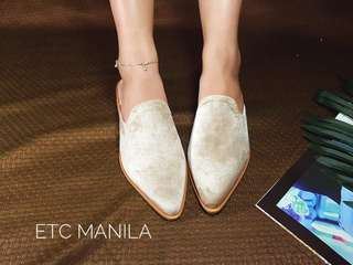 Nude Mules - Woman Shoes Loafers