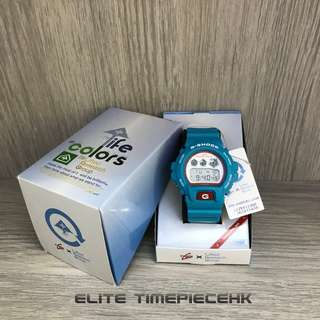 "全新現貨 Casio G shock x 美國服裝品牌 ""Lifted Research Group"" (LRG) DW 6900LRG 日本限量版"