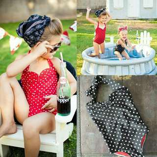 *FREE DELIVERY to WM only / Pre order 15-18 days* Kids 3-7yo one piece bikini each as shown design/color. Free delivery is applied for this item.