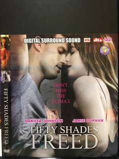 Dvd English movie. Fifty Shades Freed