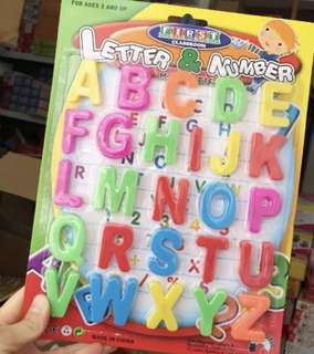 Numbers magnet for children