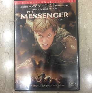 DVD Movie The Messenger the story of Joan of Arc