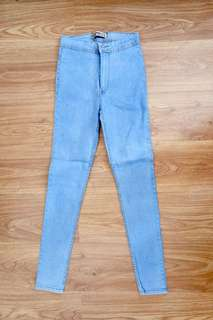High waist pants /skinny jeans